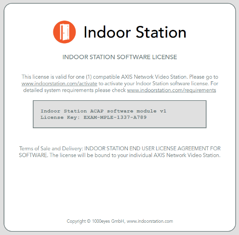 Indoor Station App For Axis A8004 Ve Amp A8105 E Network